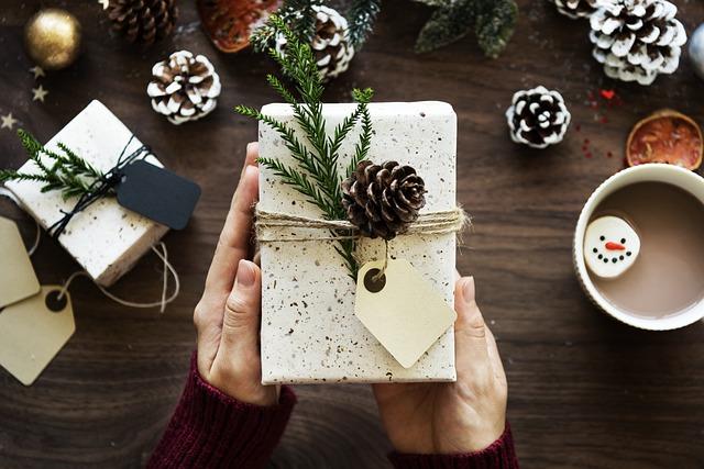 Zabalený dárek