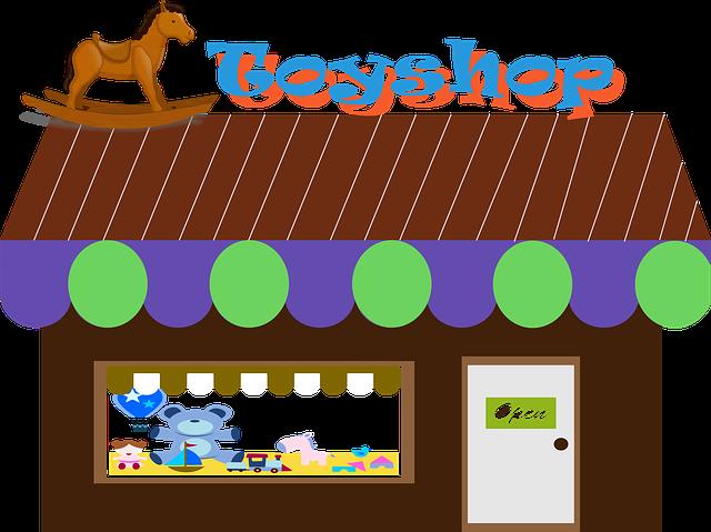 kreslené hračkářství
